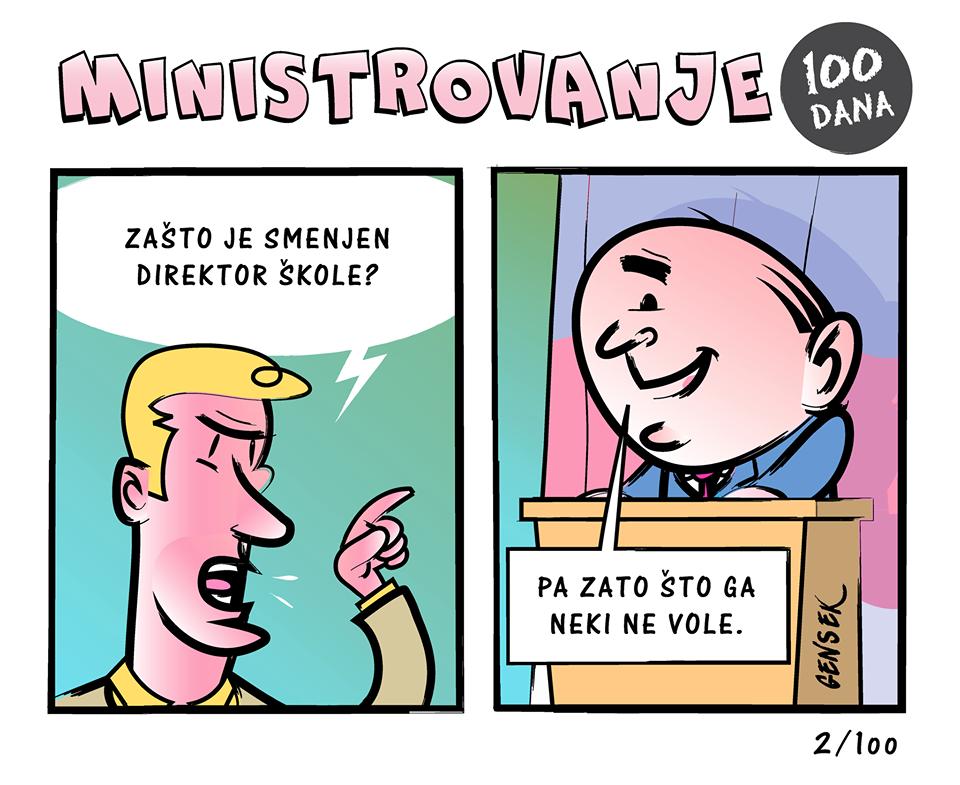 ministrovanje stripblog