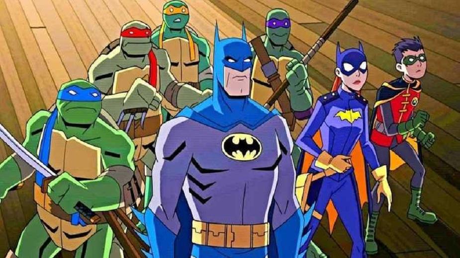 Batman vs. Ninja Turtles strip blog