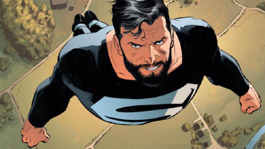 supermen crno odelo strip blog